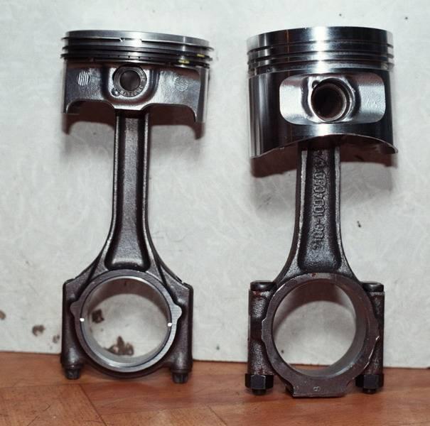 Детали мотора для Приоры
