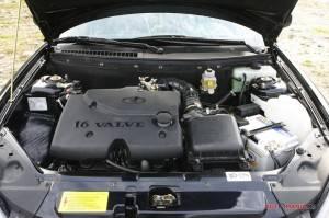 Здесь установлен модернизованный мотор