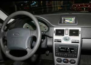 Информационная панель в машине