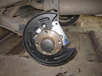 Задние дисковые тормоза на приору