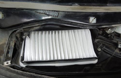 Заменяем салонный фильтр без кондиционера